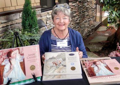 Lois V. Harris – Children's Author, teaching in the Community Education Program at Skagit Valley College, 2017