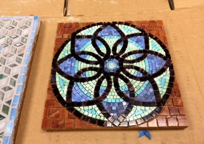 Make Your Own Mosaic  in the Community Education Program at Skagit Valley College, 2017
