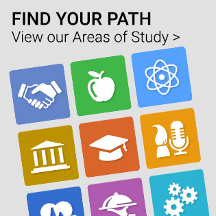 Areas of Study homepage
