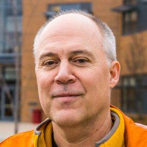 Randy Martin, Director of the Skagit Valley College, San Juan Island Center