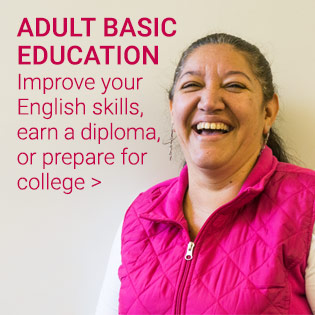Basic Education for Adults homepage