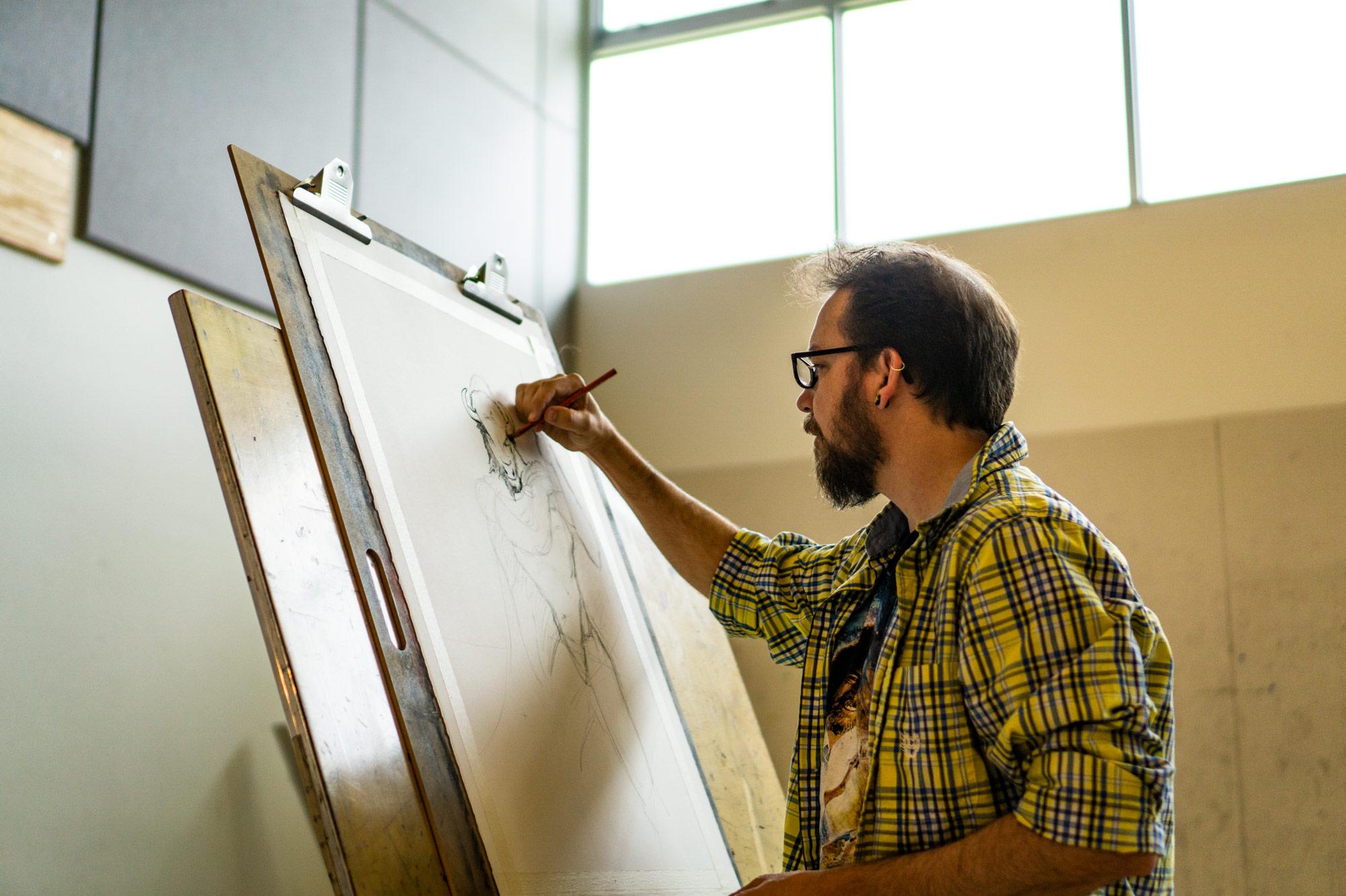 Ken Drawing