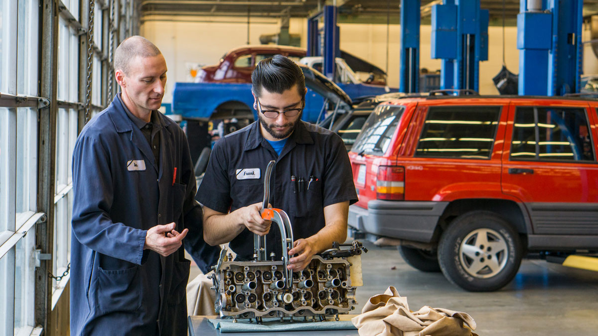 Automotive Technology program at Skagit Valley College