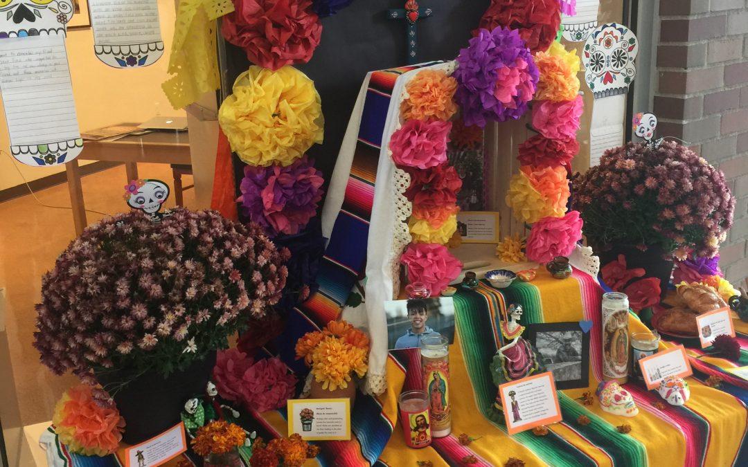 Students create alters for Día de Los Muertos