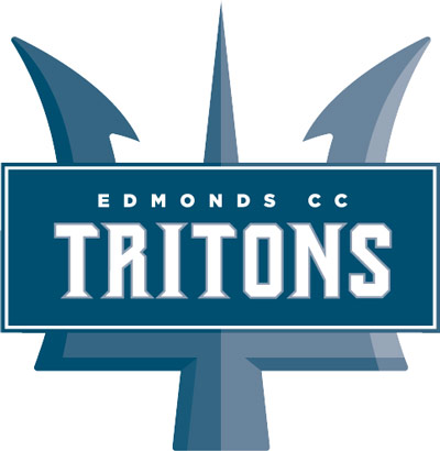 Logo for Edmonds Community College Tritons