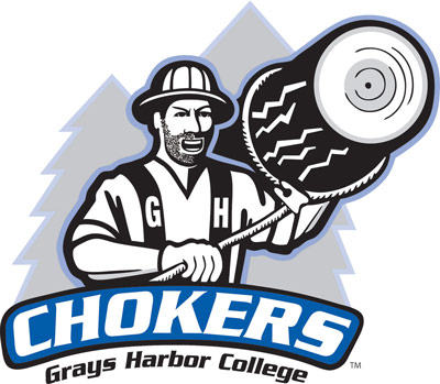 Logo for Grays Harbor College Chokers