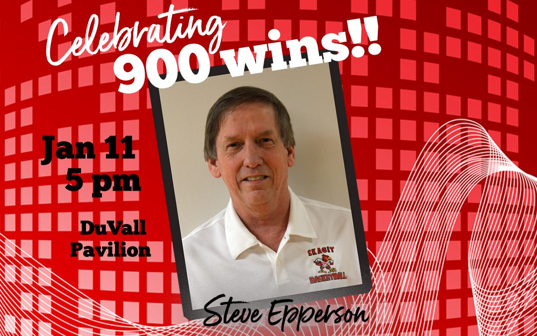 SVC to celebrate Steve Epperson 900+ wins on January 11