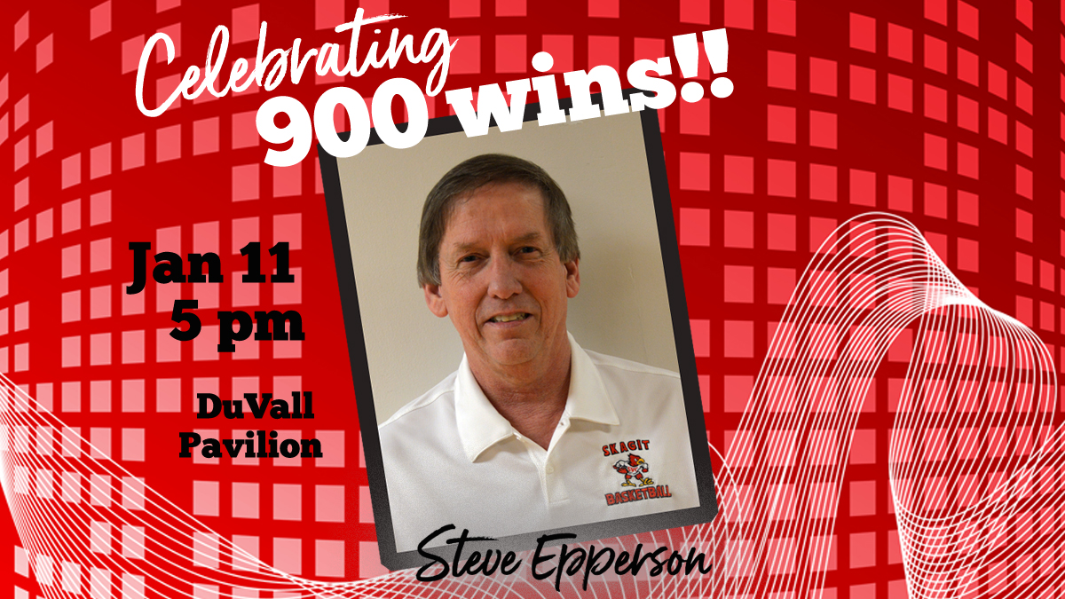SVC will celebrate Steve Epperson's 900+ wins on Saturday, January 11th.