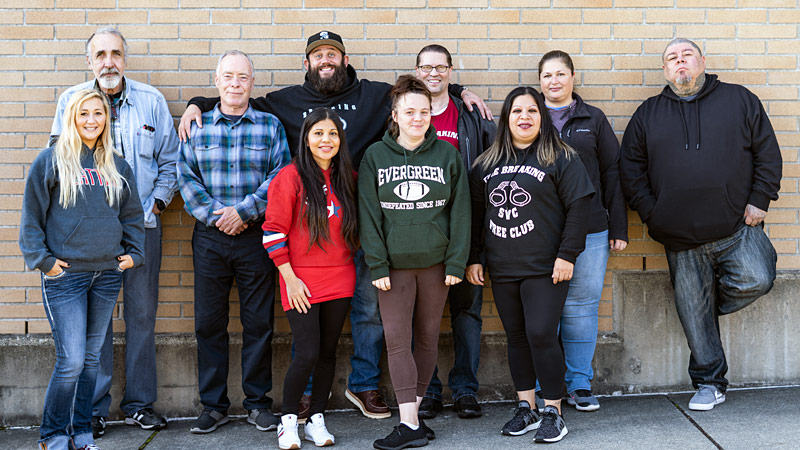 The Breaking Free club at Skagit Valley College