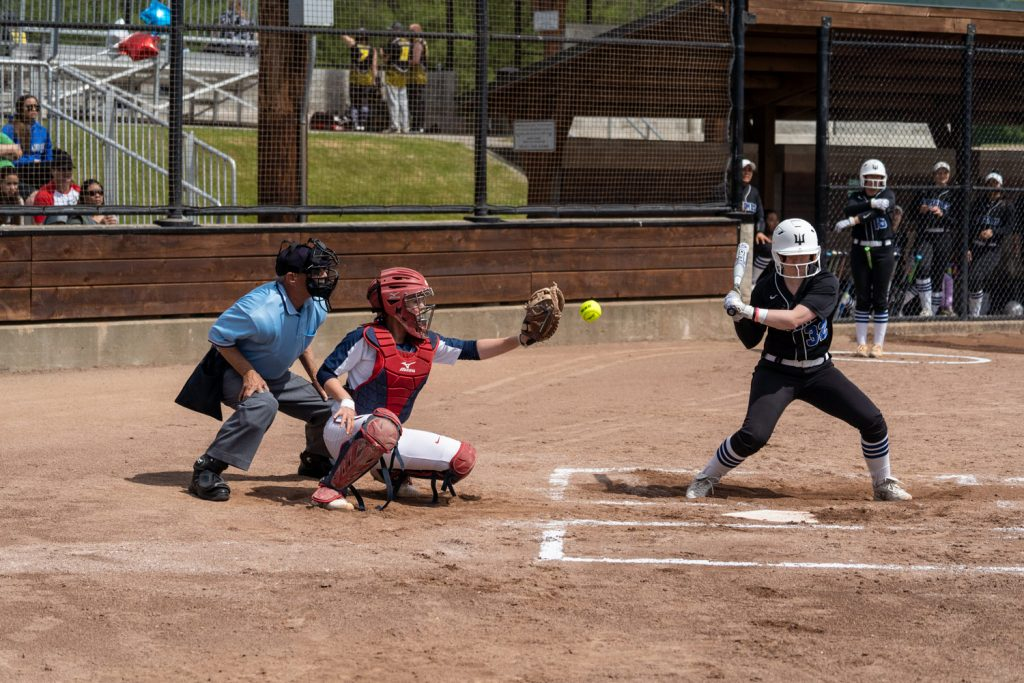 The Skagit Valley College Cardinals softball team in their last game of 2018-2019