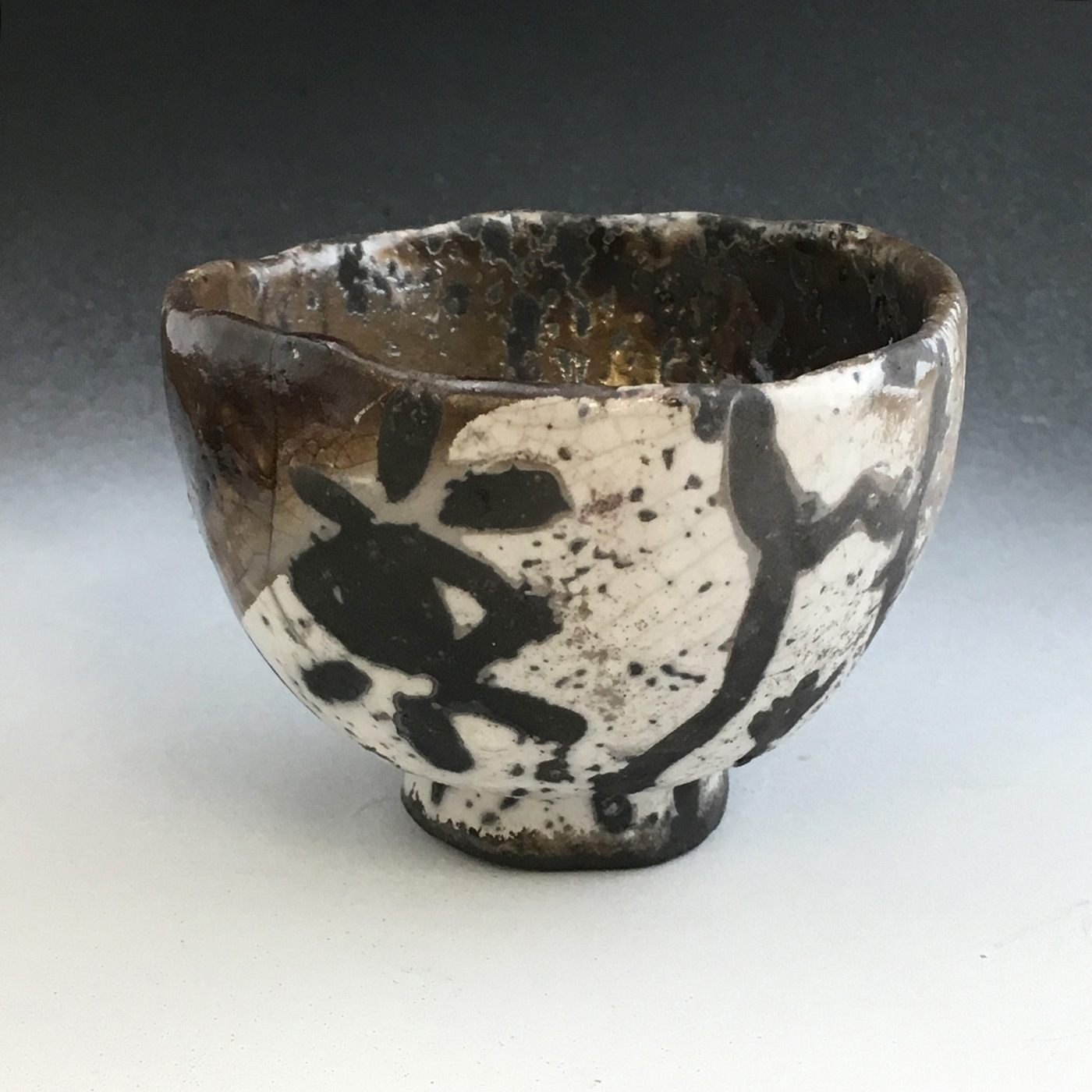 Raku Chawan made by a SVC ceramic student