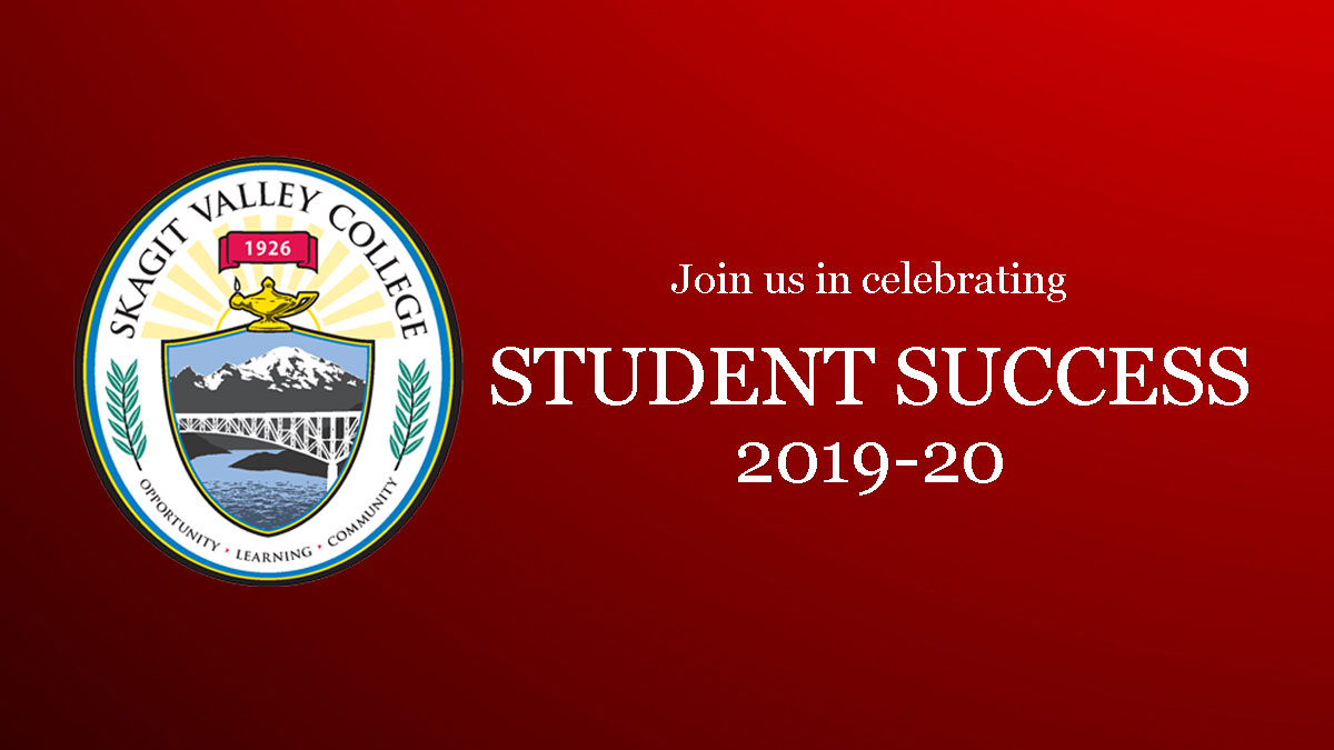SVC college seal and a message to celebrate student success