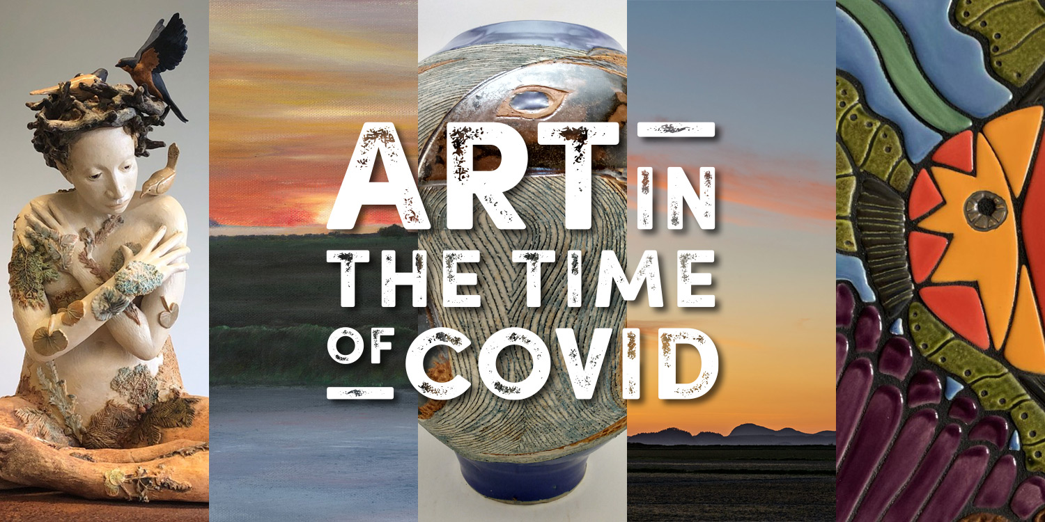 Digital exhibition for Art in The Time of Covid