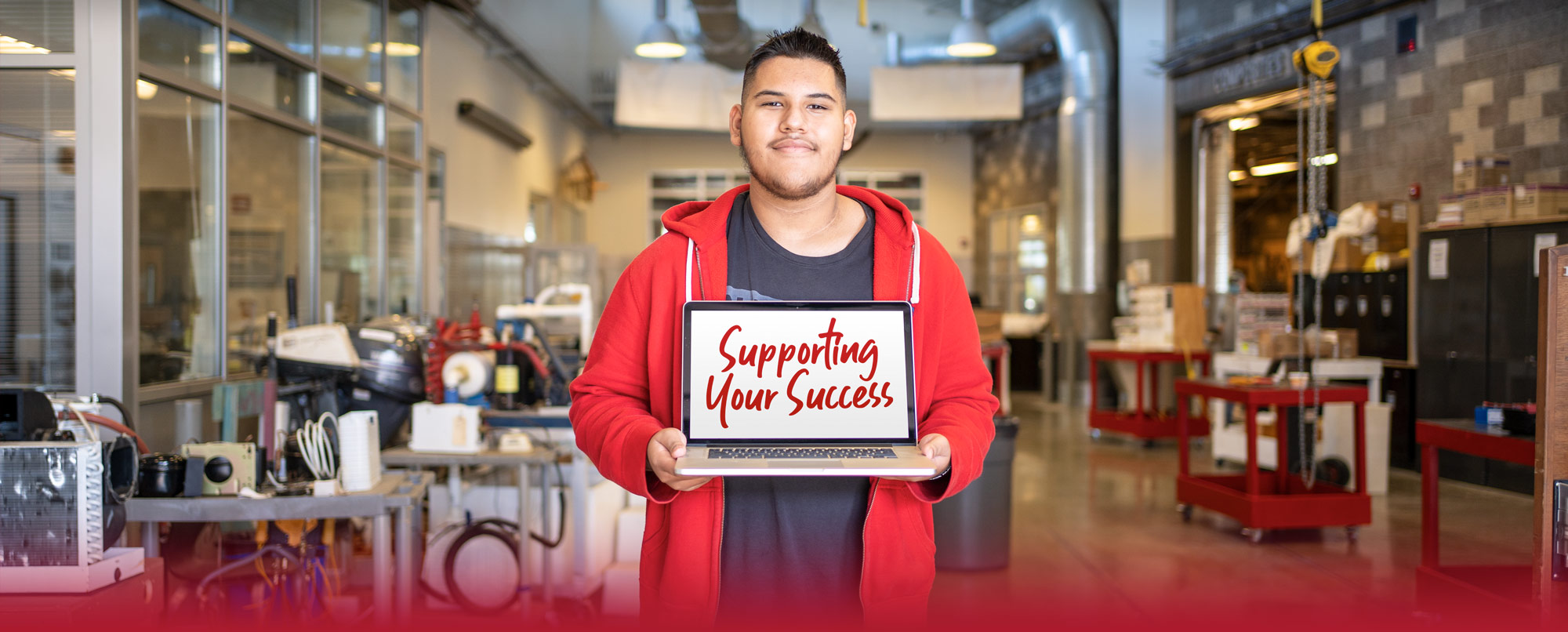 Supporting Your Success. Spring Quarter classes begin April 5, 2021.